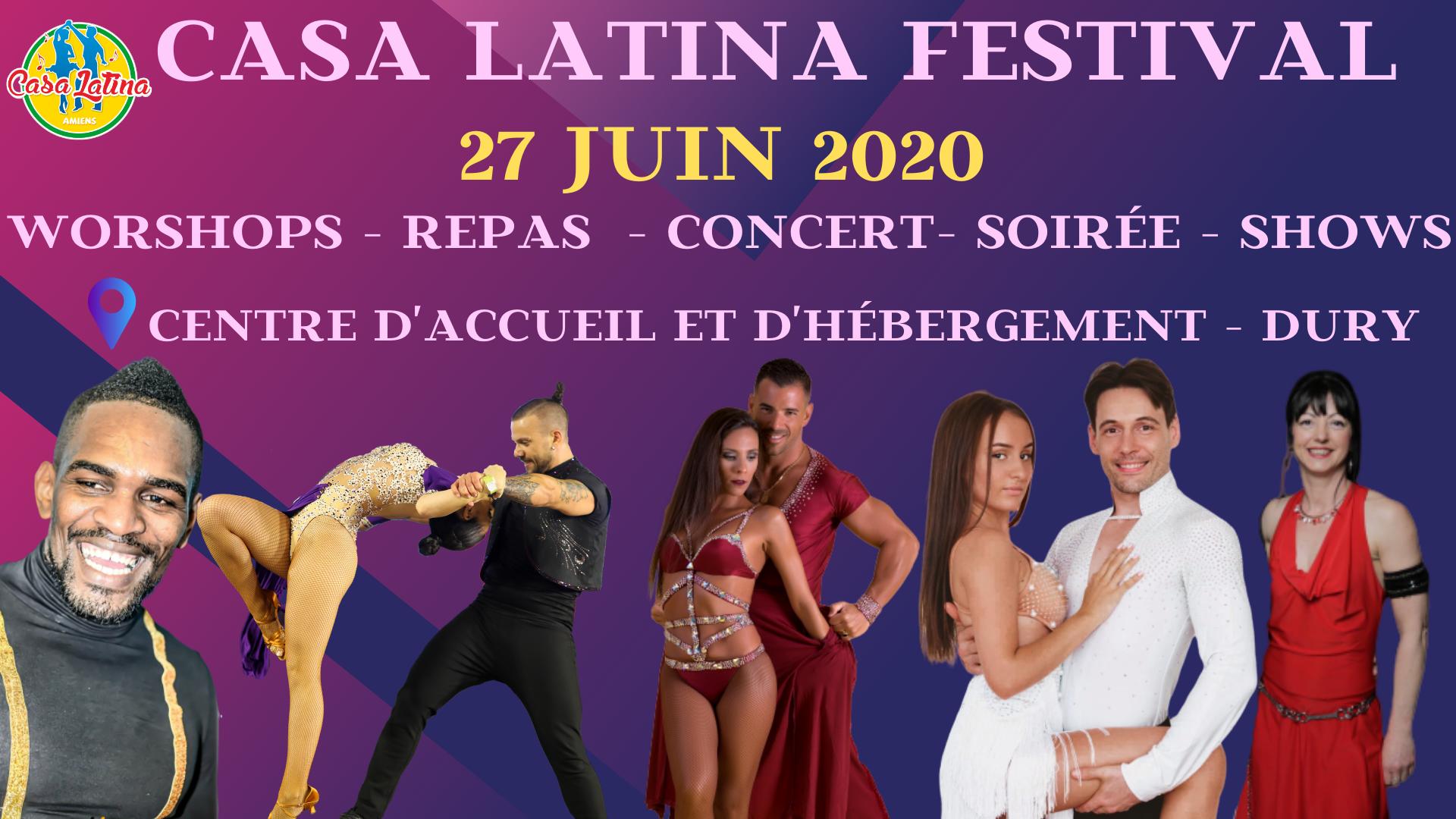 FESTIVAL CASA LATINA 2020