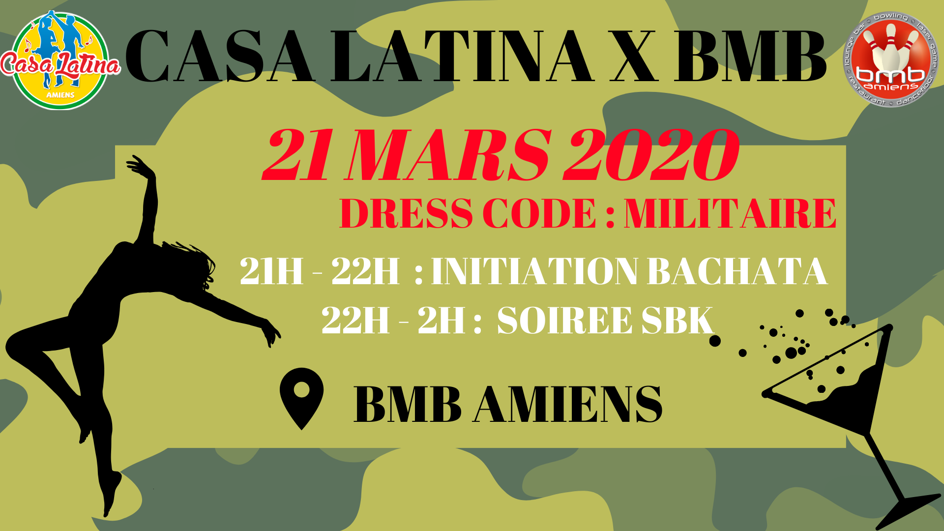 Stage Kizomba El Fuego 21/03/2020