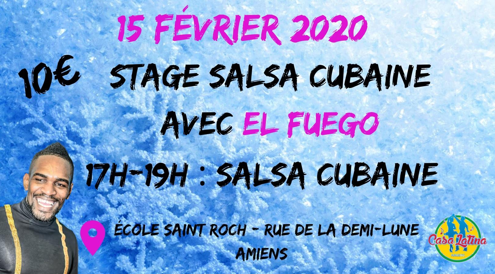 Stage El Fuego 15/02/2020