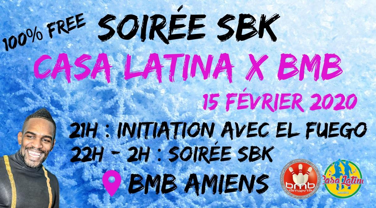 Soirée SBK con Casa Latina