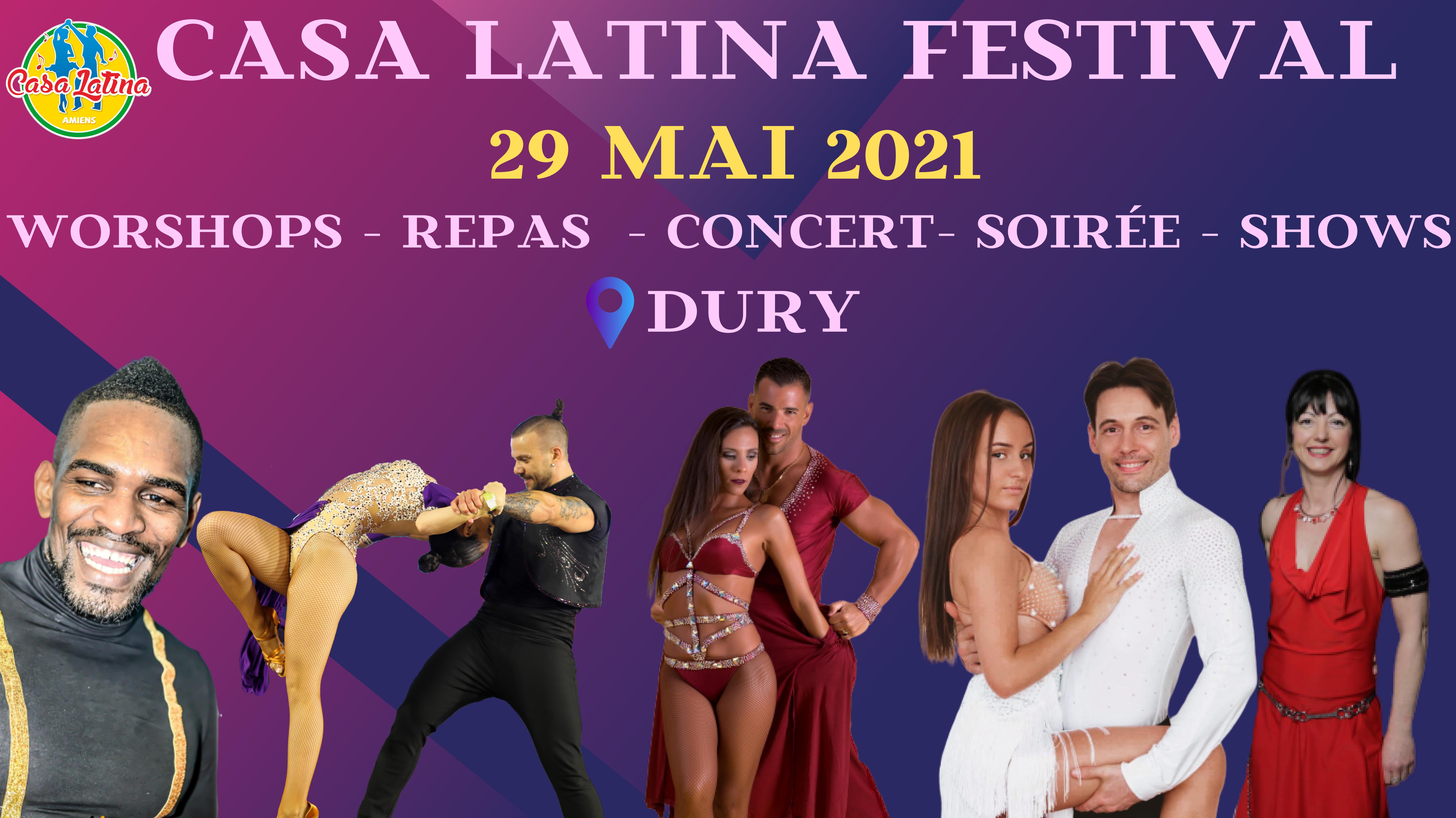 FESTIVAL CASA LATINA 2021